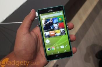 הצצה ראשונה: Sony Xperia Z3 Compact – קטן רק בצד המסך