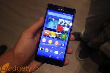 הצצה ראשונה: Sony Xperia Z3 – סמארטפון הדגל של סוני זוכה לרענון קל