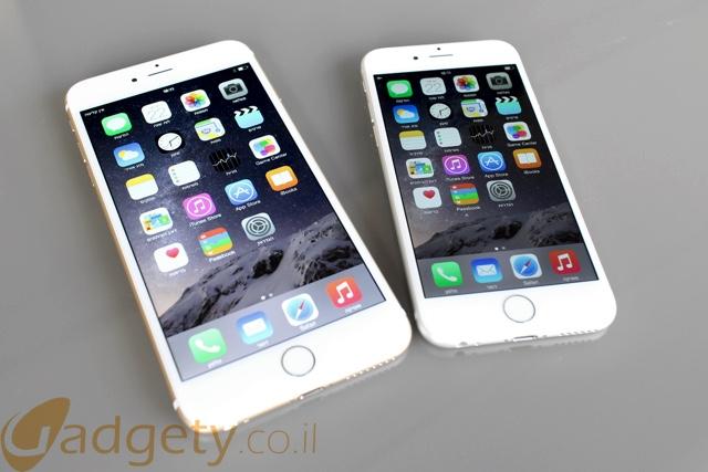 השוואה: iPhone 6 לעומת iPhone 6 Plus – במי לבחור?