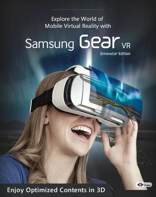 מדהים משקפי המציאות המדומה Samsung Gear VR זמינות החל מדצמבר עבור $199 RH-78