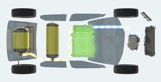 תאי המימן ב-Toyota Mirai, שעשויים להתגלות כתחליף לסוללות ברכבים חשמליים