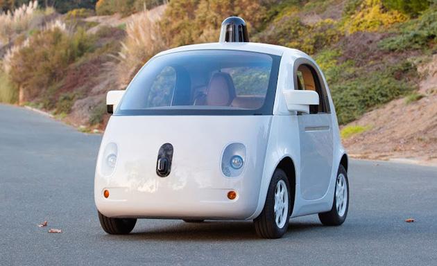 מכונית חשמלית ללא נהג של גוגל