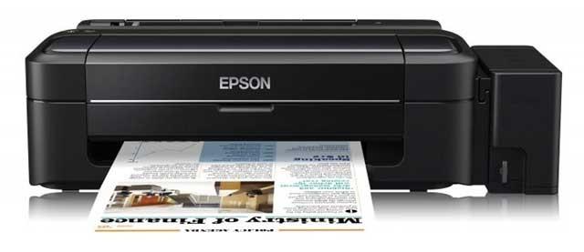 """מדפסת אפסון L300 לשוק הביתי (מקור תמונה: יח""""צ אפסון)"""