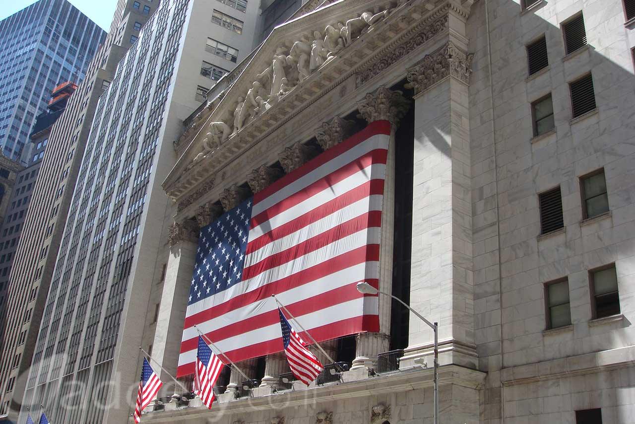 בורסת NYSE בעיר ניו-יורק