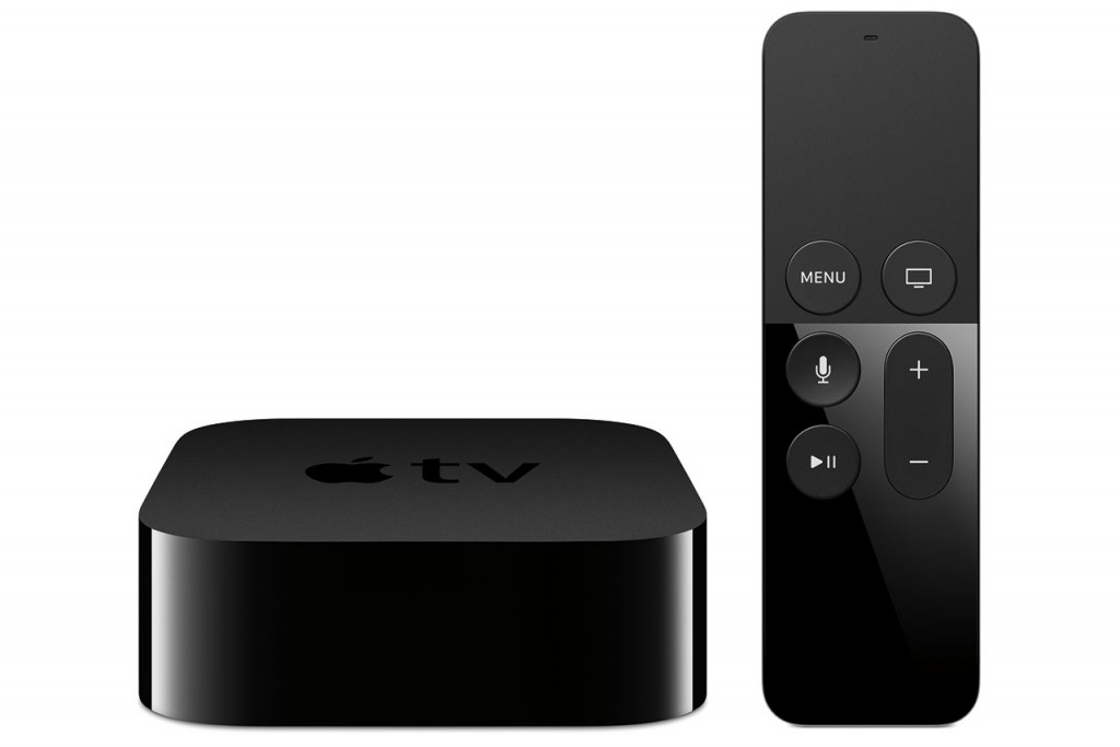 Apple TV והשלט החדשים