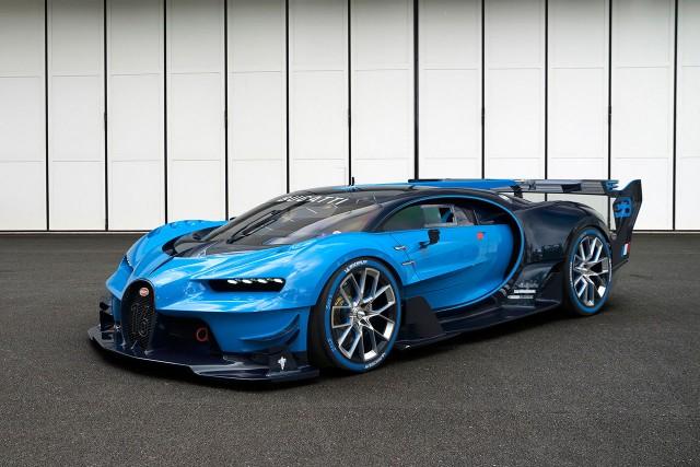 """Bugatti Vision Gran Turismo (מקור: יח""""צ בוגאטי)"""