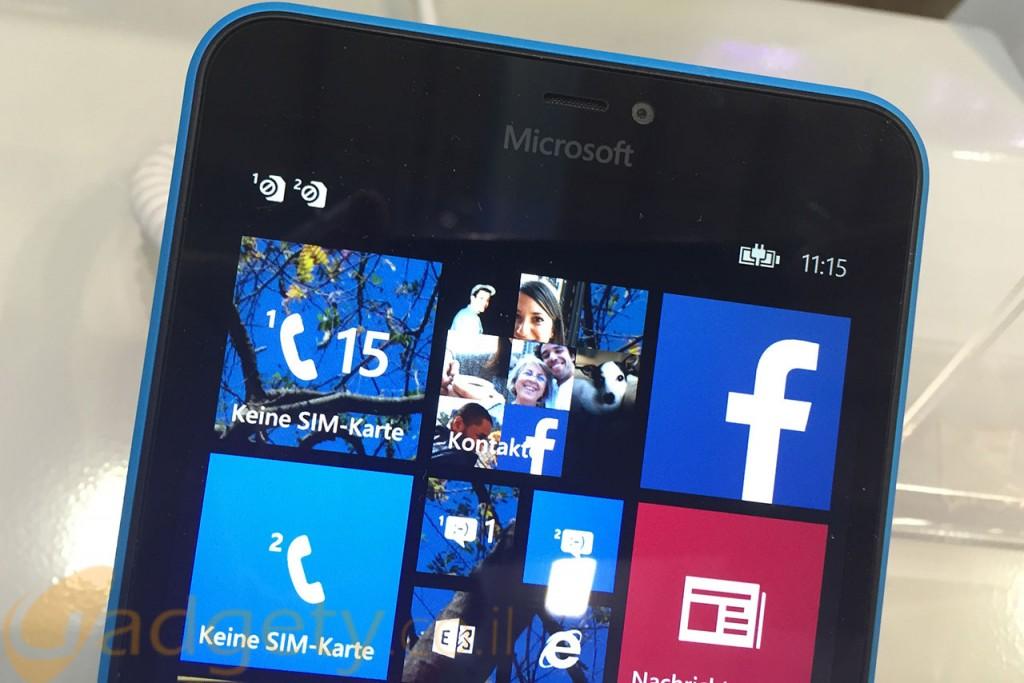 סמארטפון מבוסס Windows Phone (צילום: רונן מנדזיצקי, גאדג'טי)