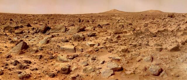 לא נראה כאילו שיש פה הרבה מים. קרדיט:NASA