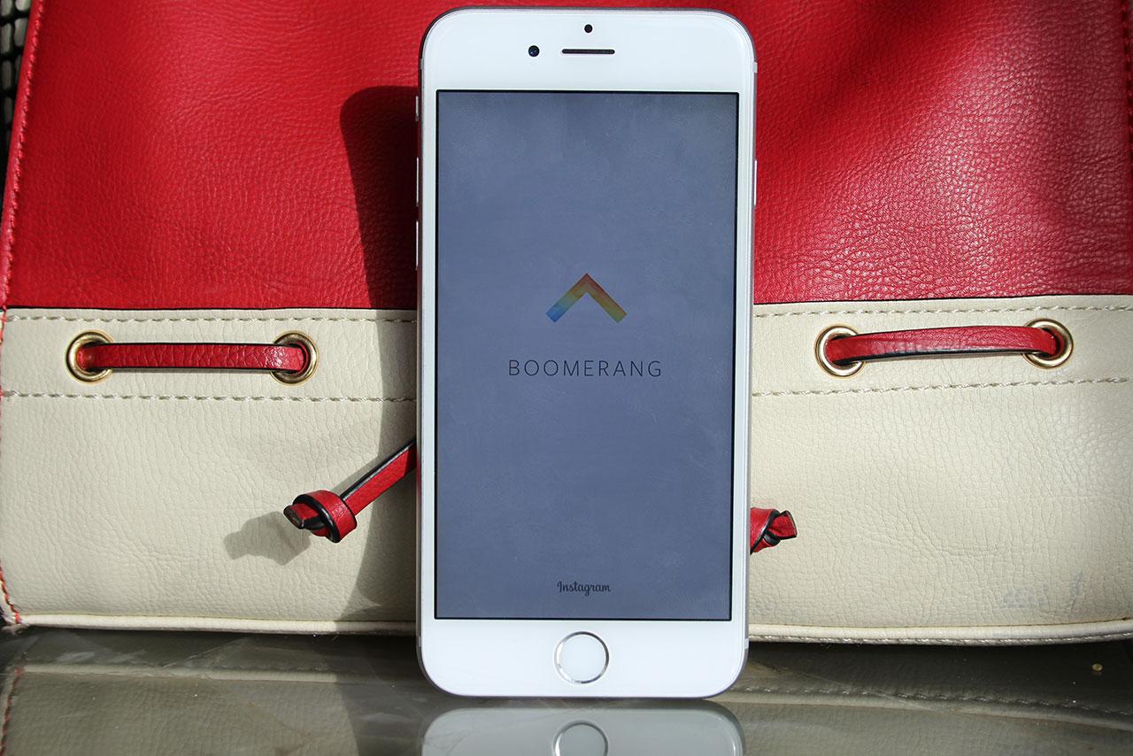 אפליקציית בומרנג מבית אינסטגרם