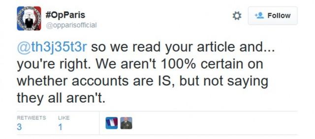 ציוץ שנמחק מ-#OpParis