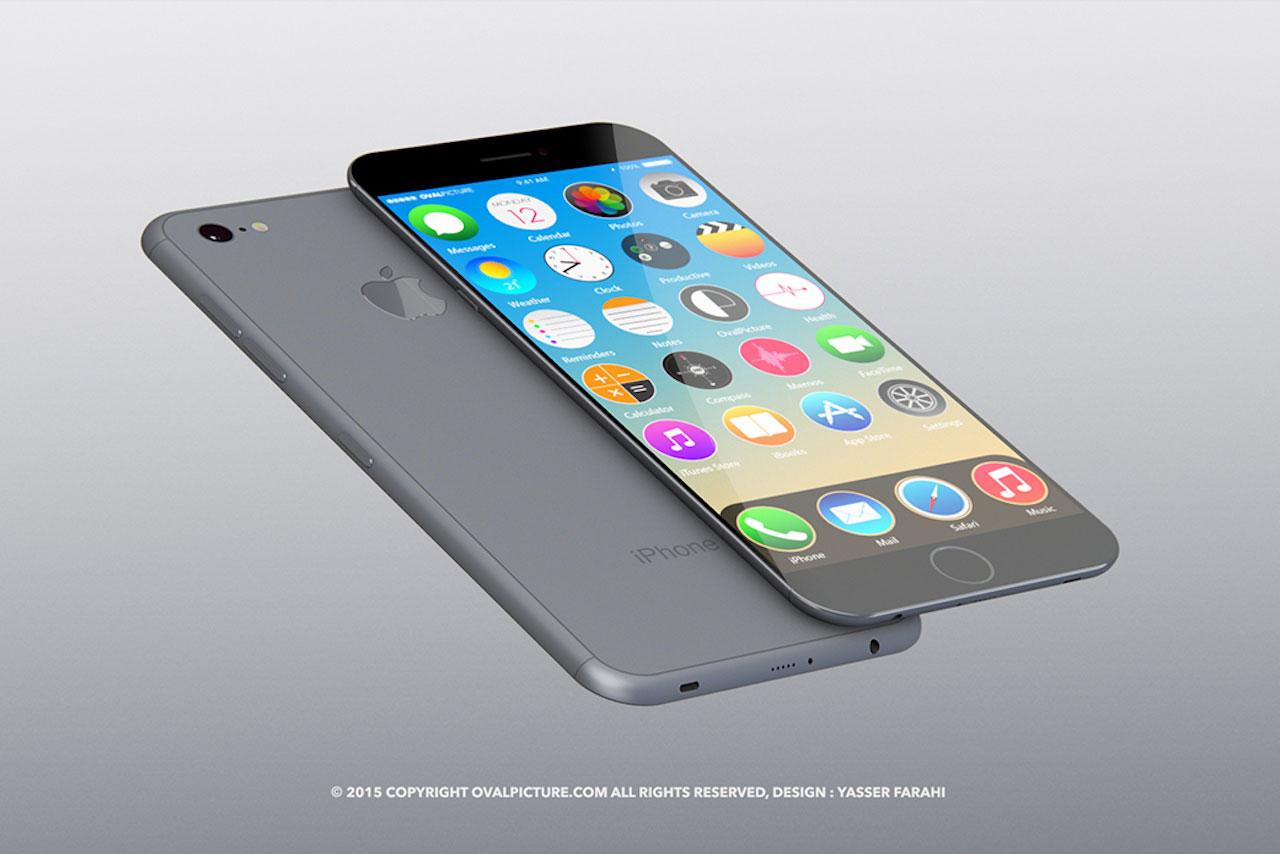 קונספט למכשיר הדגל Apple iPhone 7