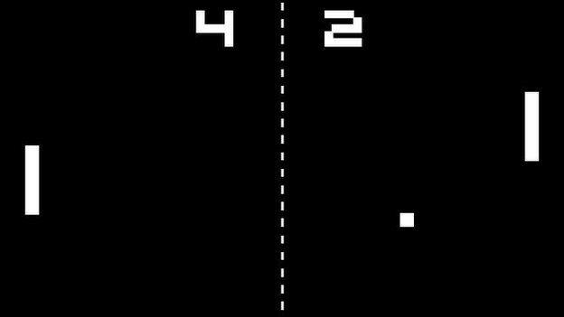 תוצאת תמונה עבור משחק מחשב פונג