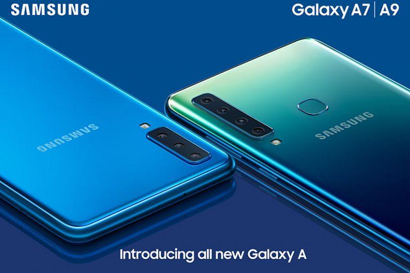Galaxy A9 ו-Galaxy A7 (תמונה: Samsung)