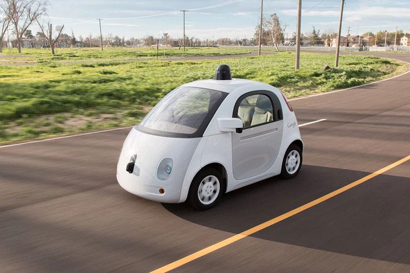הרכב האוטונומי של גוגל