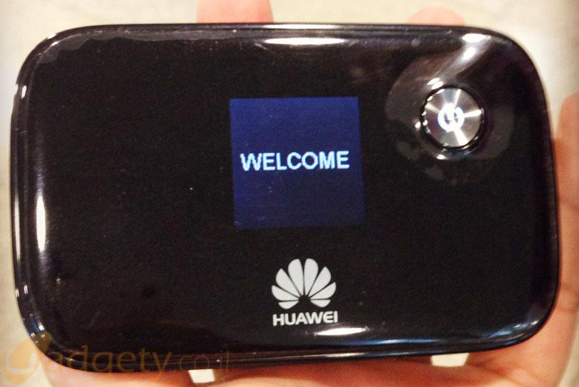 ראוטר 4G נייד של וואווי (צילום: גאדג'טי)