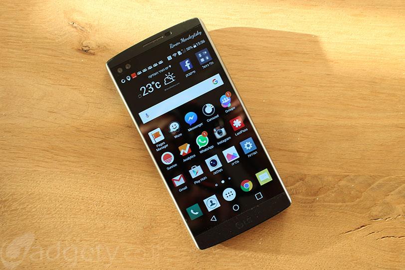 LG V10 (צילום: גאדג'טי)