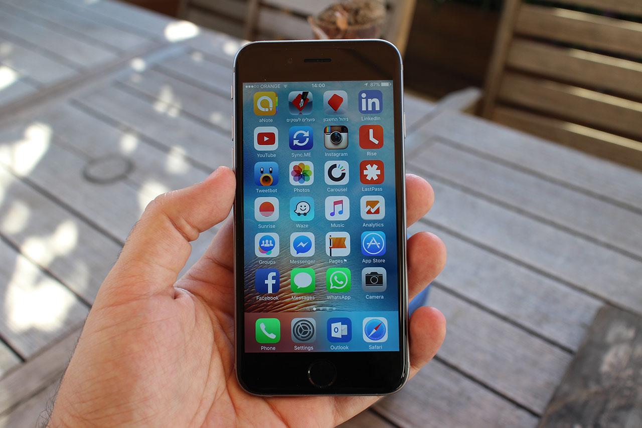 iPhone 6S (צילום: גאדג'טי)