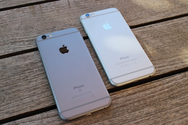 אייפון 6S מול אייפון 6 (צילום: גאדג'טי)