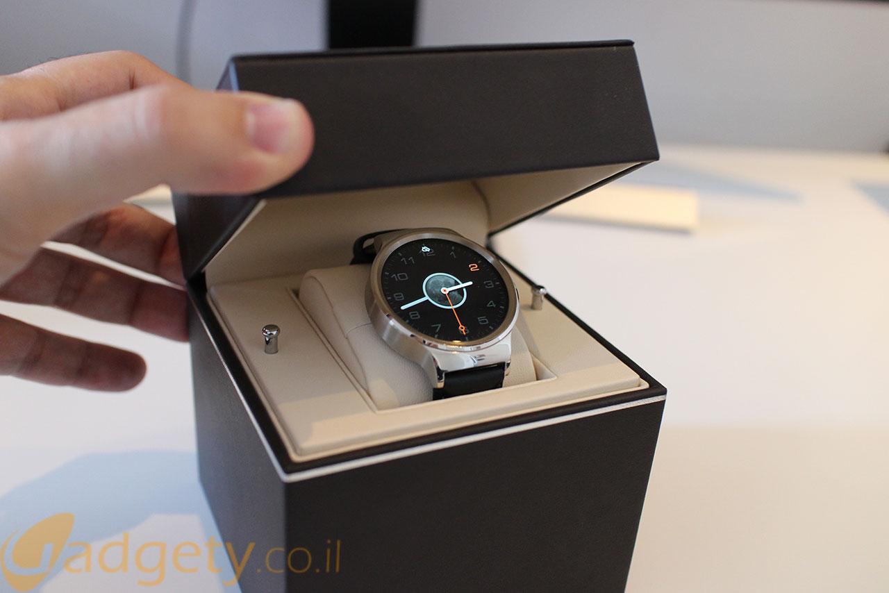 Huawei Watch (צילום: גאדג'טי)