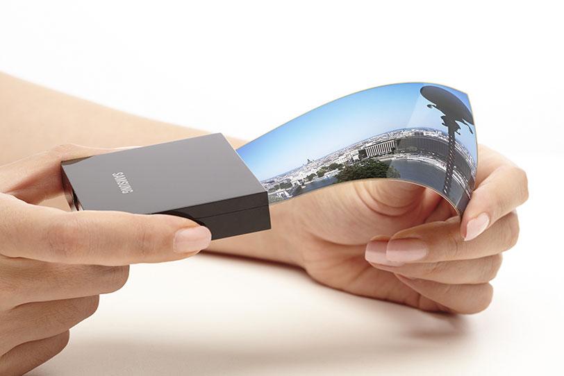 מסך גמיש לסמארטפון (מקור: Samsung Display)