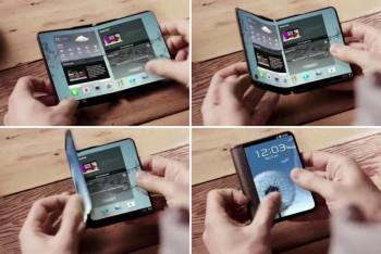 סמסונג עובדת על שני סמארטפונים מתקפלים שונים לחלוטין עבור 2017