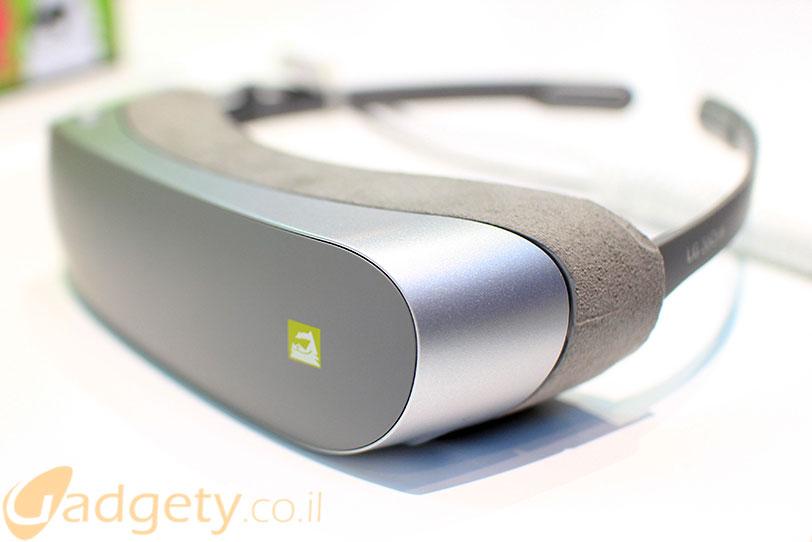 LG Gear VR (צילום: גאדג'טי)