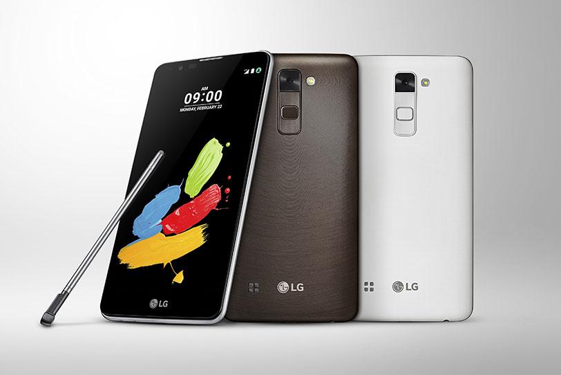 """LG Stylus 2 (קרדיט: יח""""צ LG)"""