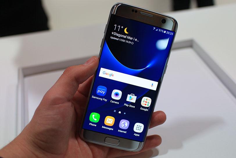 מפואר הצצה ראשונה: Samsung Galaxy S7 edge GQ-48