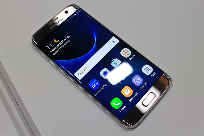 להפליא הצצה ראשונה: Samsung Galaxy S7 edge XW-82