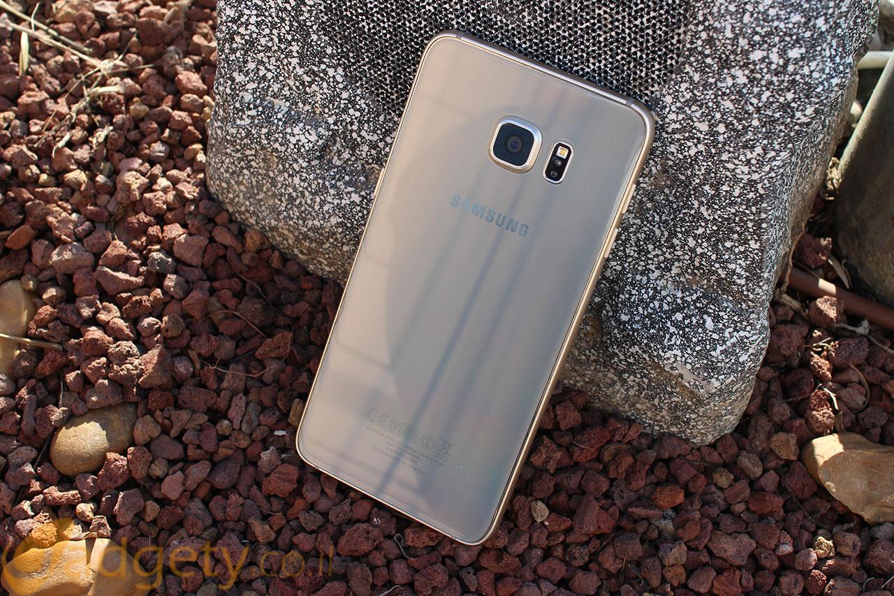 Samsung Galaxy S6 Edge Plus (צילום: גאדג'טי)