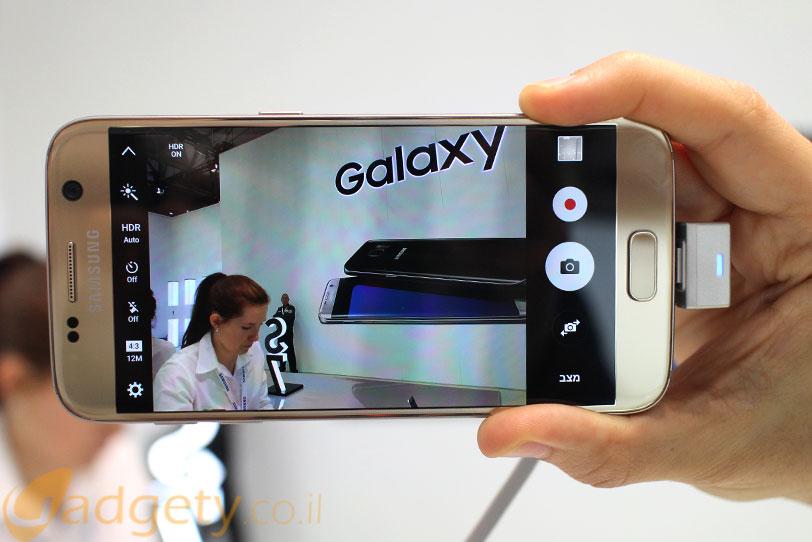 סדרת Galaxy S7 מבצעת שימוש בשני חיישני צילום ראשיים שונים