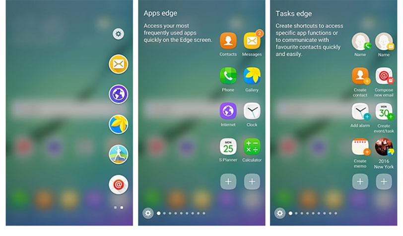 מסכי ה-Edge החדשים של ה-Galaxy S6 Edge ב-550 פיקסלים