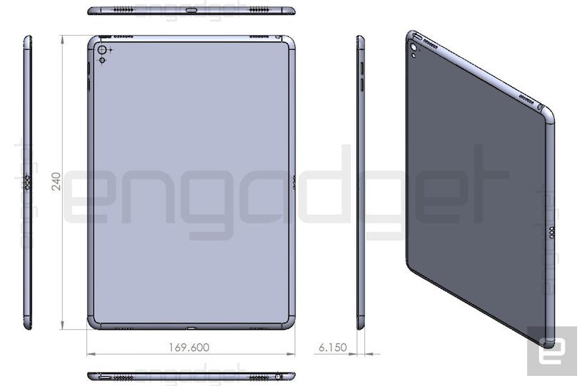 iPad Air 3 Dimensions Leak