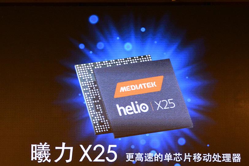 MediaTek Helio X25 החדשה