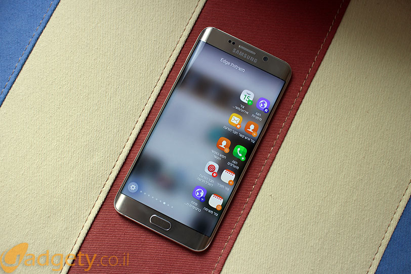 +Samsung Galaxy S6 Edge (צילום: גאדג'טי)