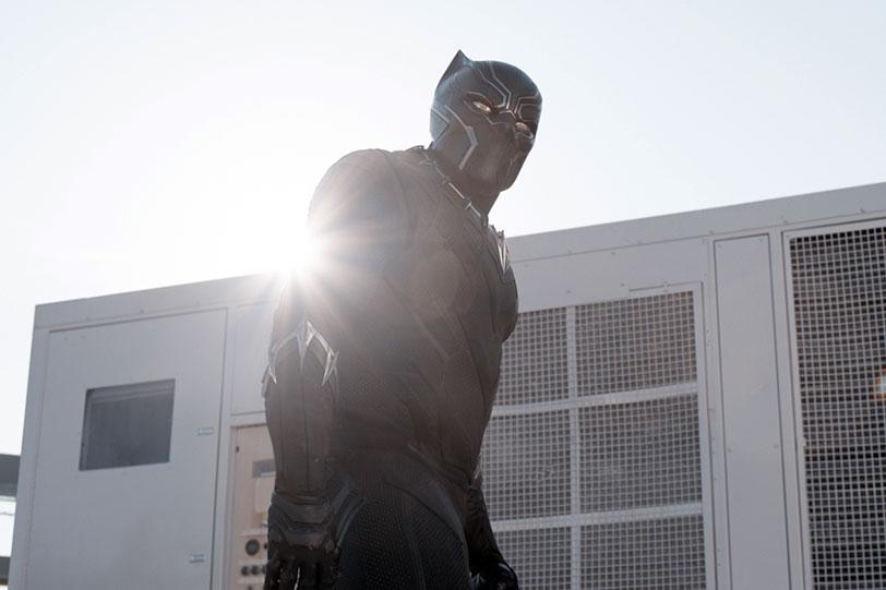 """הפנתר השחור (מתוך """"קפטן אמריקה: מלחמת האזרחים"""")"""