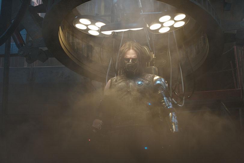 """חייל החורף (מתוך """"קפטן אמריקה: מלחמת האזרחים"""")"""