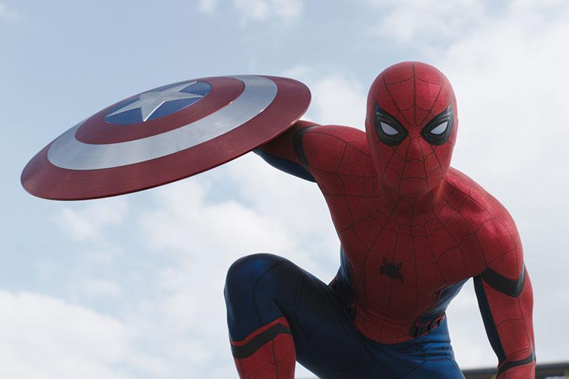 """ספיידרמן (מתוך """"קפטן אמריקה: מלחמת האזרחים"""")"""