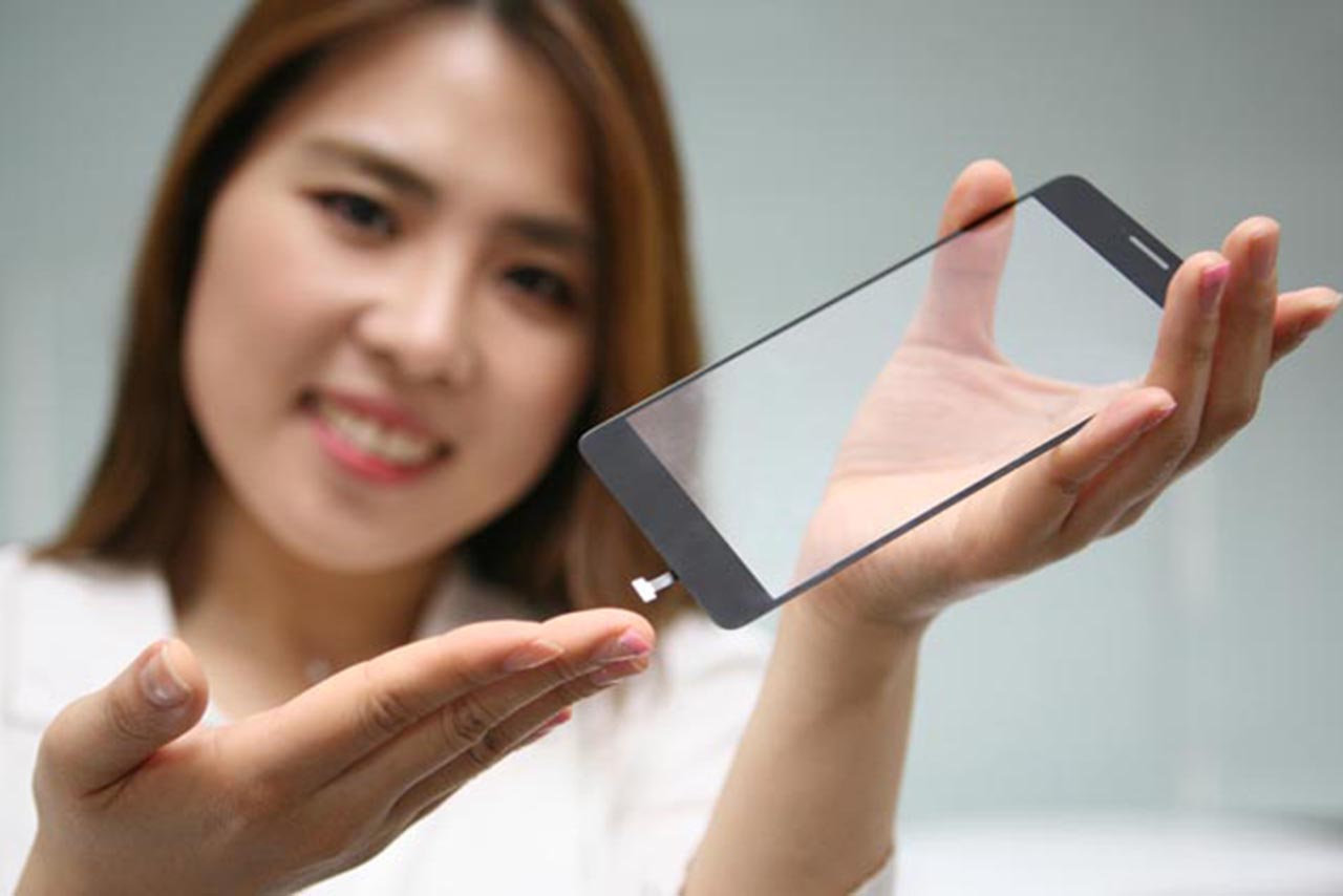LG Innotek Fingerprint Sensor Screen