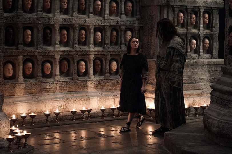 אריה סטארק (מתוך: משחקי הכס: עונה 6 - פרק 5. מקור: HBO)
