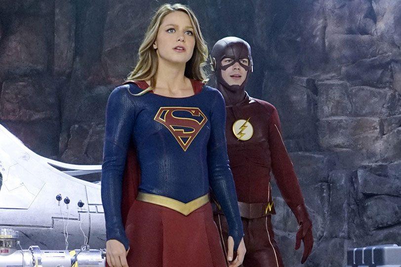 סופרגירל ופלאש