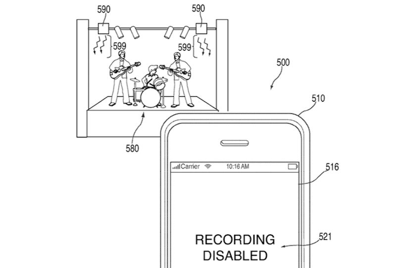 Apple Patent Infrared Camera System 1