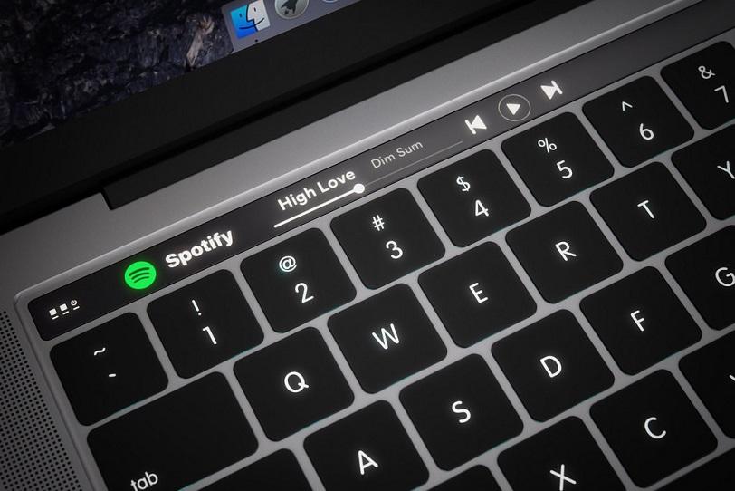 קונספט: כך יראה מחשב ה-MacBook עם רצועת מגע