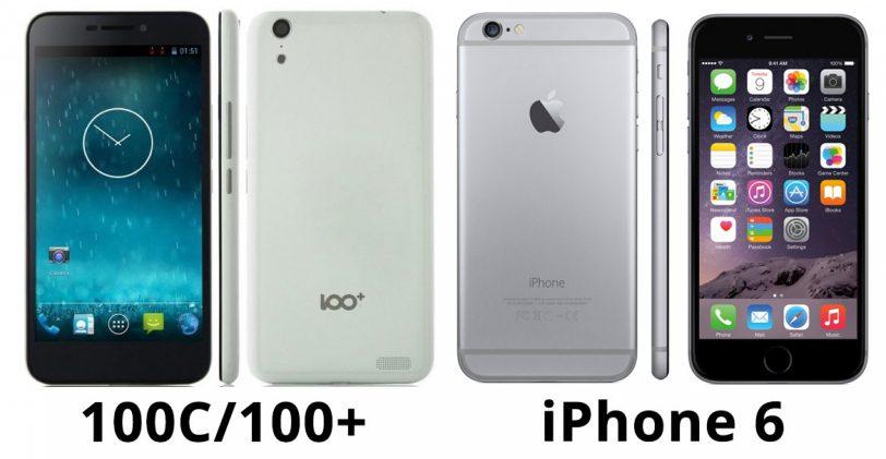 אייפון 6 מול 100C