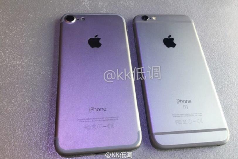 Iphone 6 Vs Iphone 6s >> אייפון 7 נחשף בסרטון לצד אייפון 6S ומציג שינויים מינימליים בעיצובו