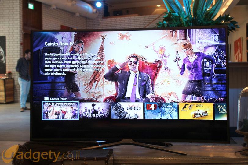 משחקים בסדרת K של טלויזיות Samsung SUHD לשנת 2016 (צילום: גאדג'טי)