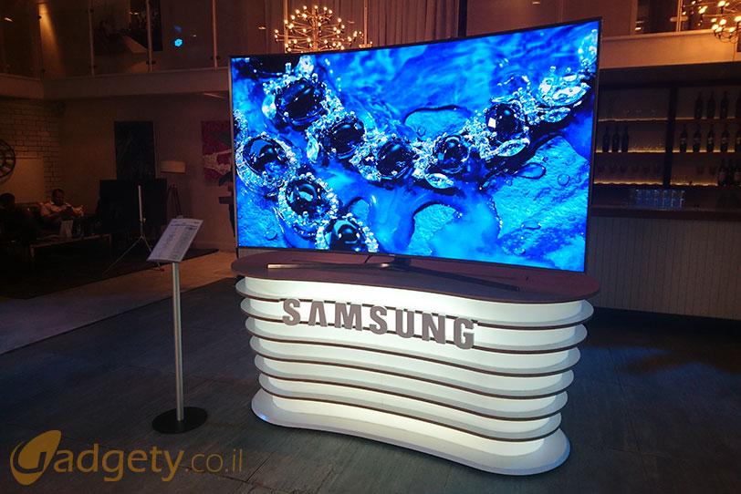טלויזיית Samsung SUHD מדגם KS9800 לשנת 2016 (צילום: גאדג'טי)