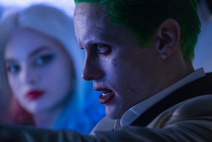 """הג'וקר מתוך """"יחידת המתאבדים"""" (תמונות באדיבות Warner Bros)"""