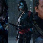 מימין לשמאל: סליפנוט, קטאנה וקפטן בומרנג (תמונות באדיבות Warner Bros)