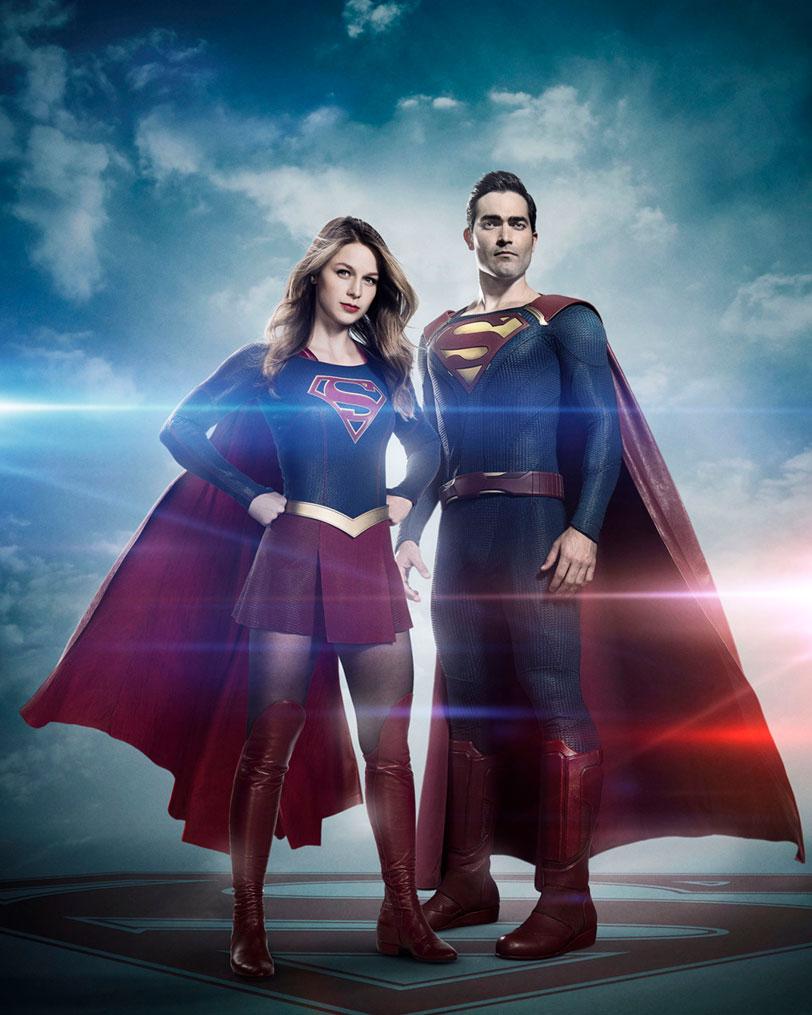 סופרמן וסופרגירל